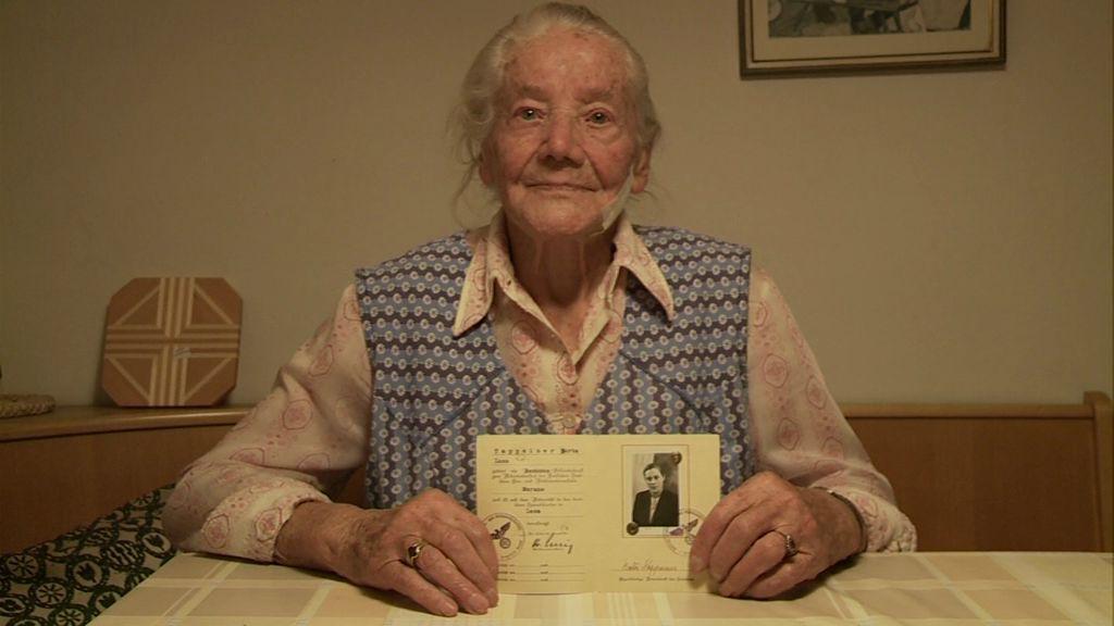 Berta Stimpfl, geborene Tappeiner, Jg. 1911