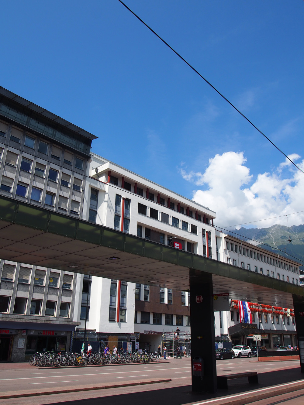 Das ehemalige Hotel Victoria heute. Foto: Eva Pfanzelter